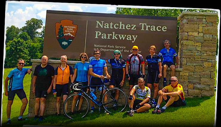 Natchez Trace Bicycle Tour